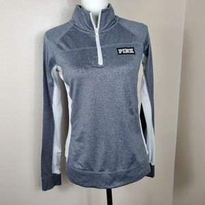 VS Pink 1/2  Zip Athletic Pullover   Sz S/P